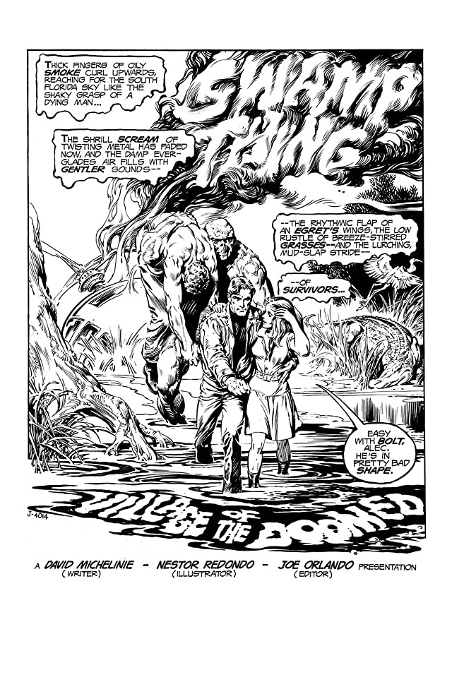 click for super-sized previews of Swamp Thing (1972-1976) #18