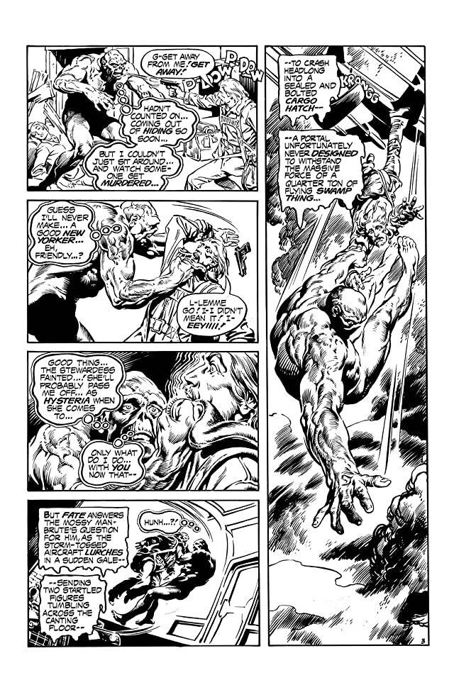 click for super-sized previews of Swamp Thing (1972-1976) #16