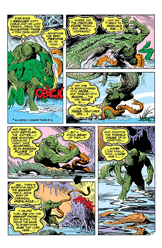 click for super-sized previews of Swamp Thing (1972-1976) #13