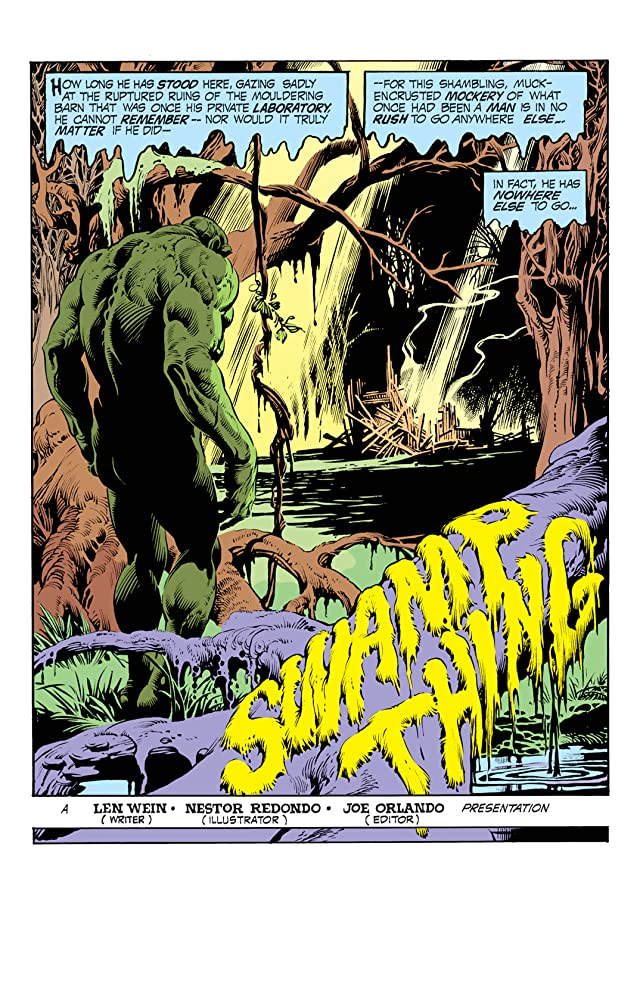 click for super-sized previews of Swamp Thing (1972-1976) #11