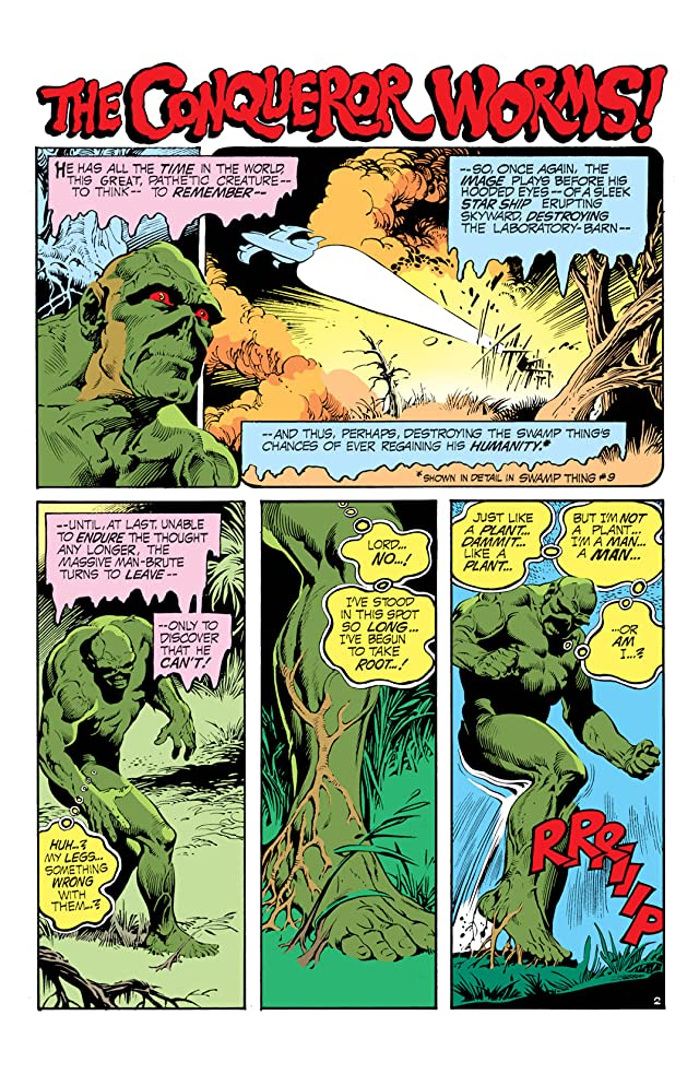 Swamp Thing (1972-1976) #11