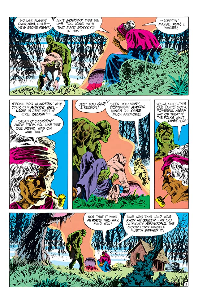 click for super-sized previews of Swamp Thing (1972-1976) #10