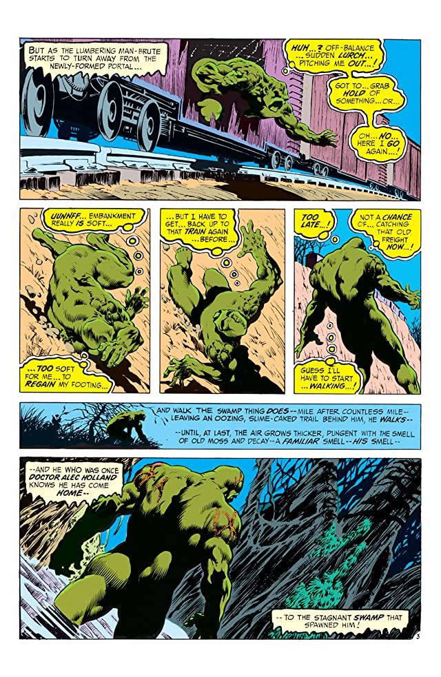 click for super-sized previews of Swamp Thing (1972-1976) #9