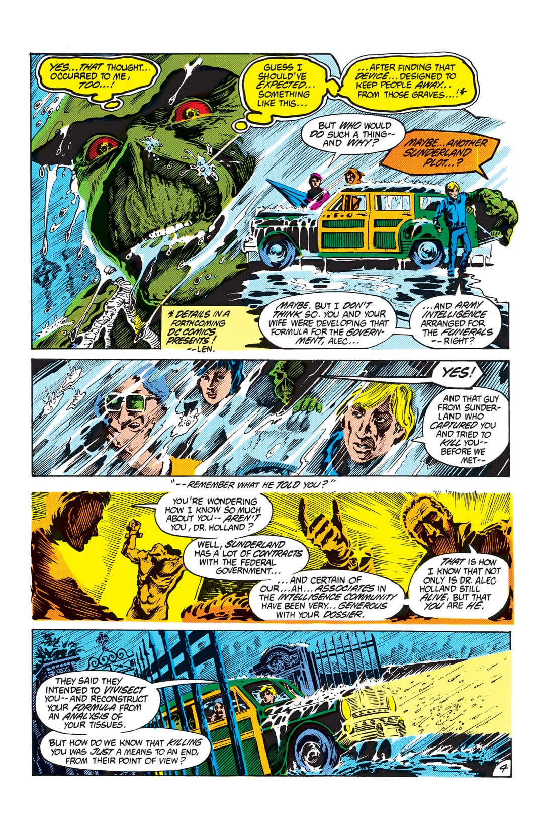 The Saga of the Swamp Thing (1982-1996) #16