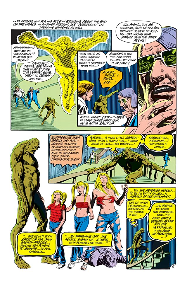 click for super-sized previews of The Saga of the Swamp Thing (1982-1996) #13