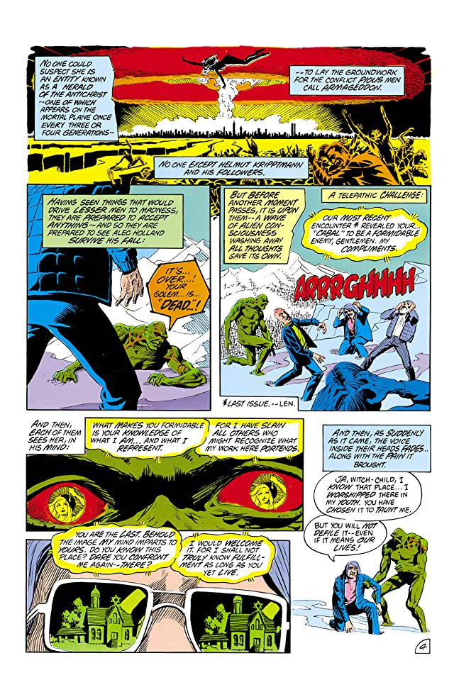 click for super-sized previews of The Saga of the Swamp Thing (1982-1996) #12