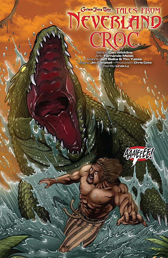 click for super-sized previews of Grimm Fairy Tales Presents: Tales From Neverland #3