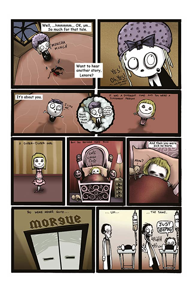 click for super-sized previews of Lenore #2