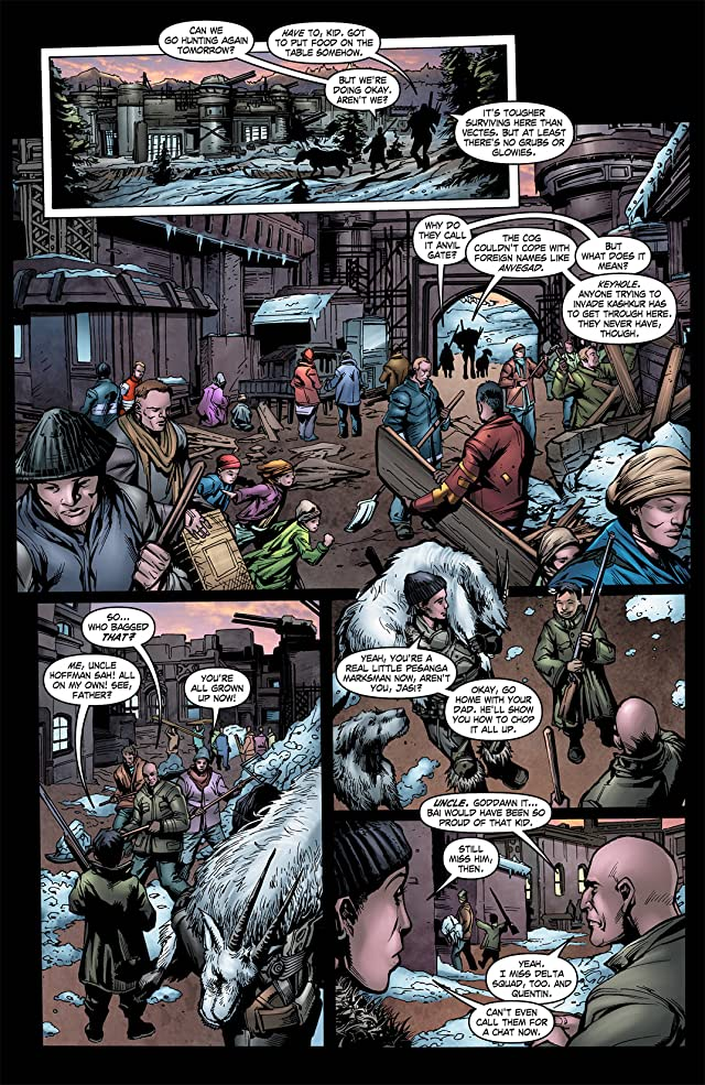 click for super-sized previews of Gears of War #23