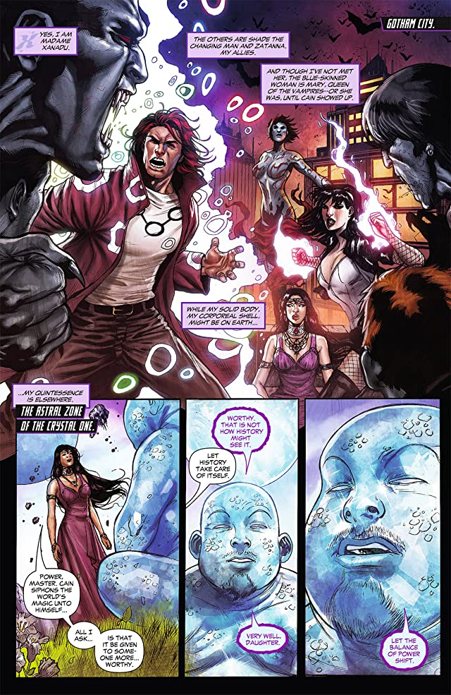 click for super-sized previews of Justice League Dark (2011-2015) #8