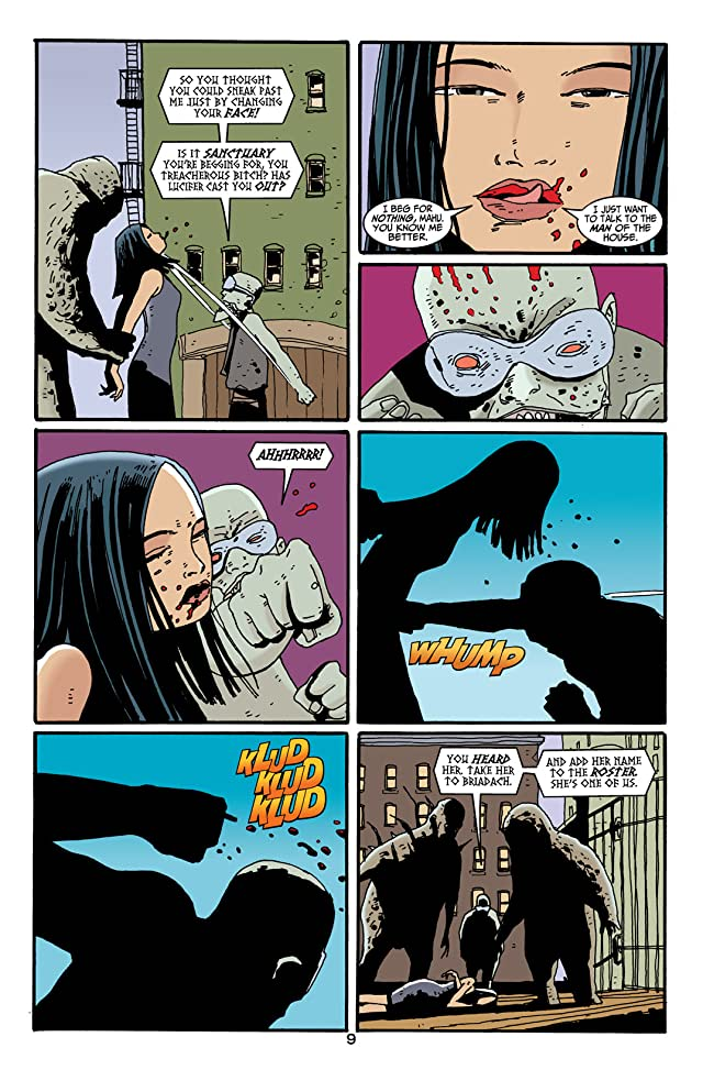 click for super-sized previews of Lucifer #14