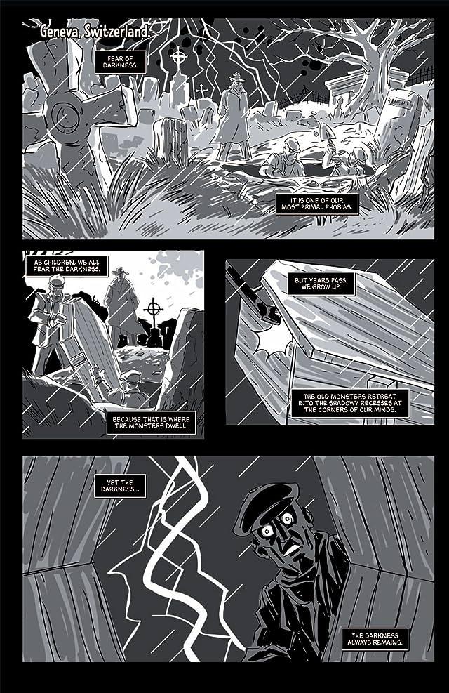 Return of the Monsters: The Phantom Detective vs. Frankenstein