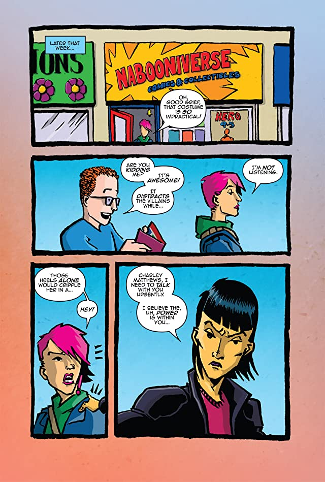 click for super-sized previews of Hypergirl #3