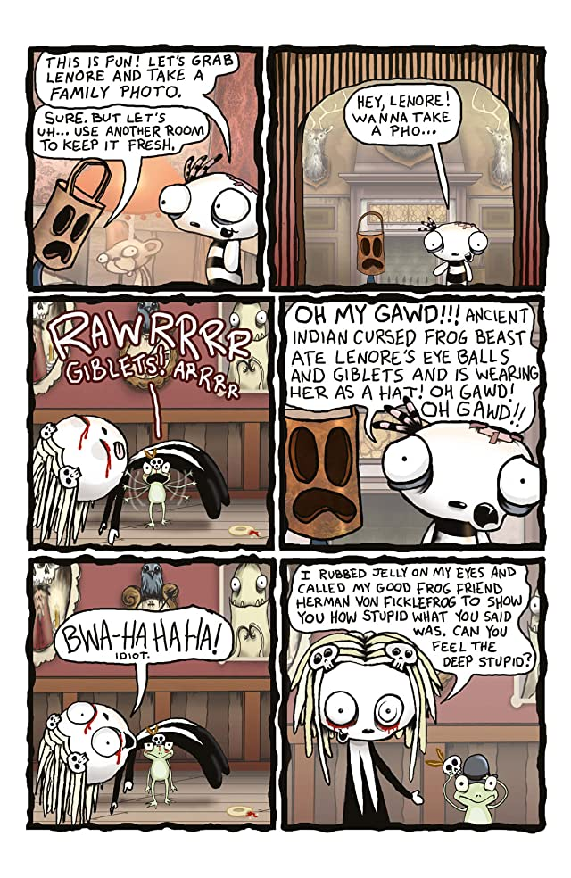 click for super-sized previews of Lenore Vol. 2 #4