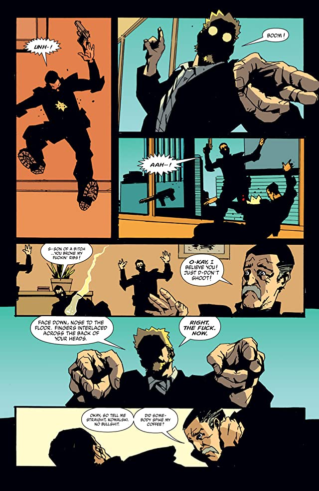 click for super-sized previews of The Losers #3