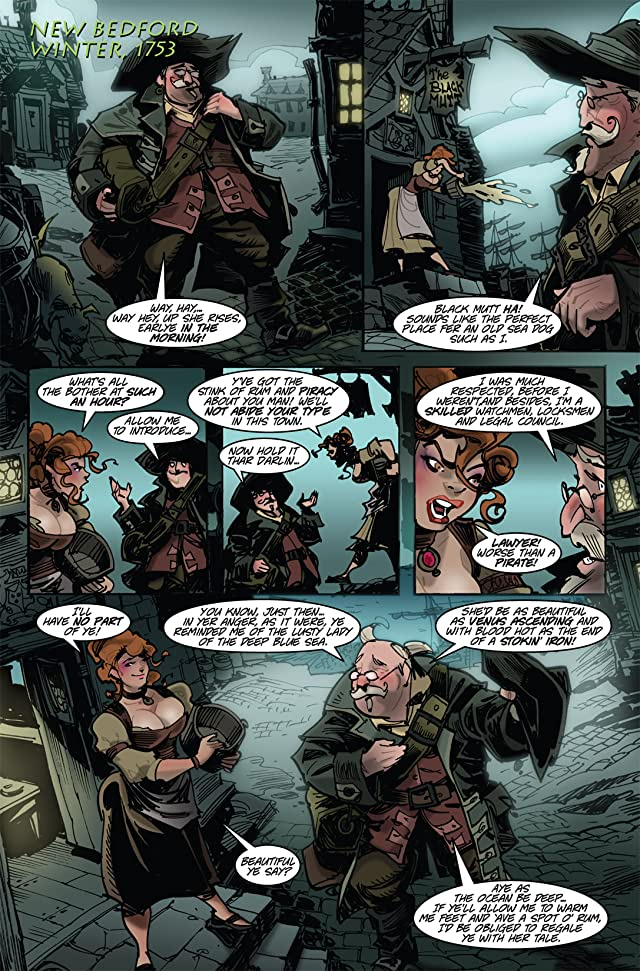 The Voyages of She-Buccaneer #1 (of 7)