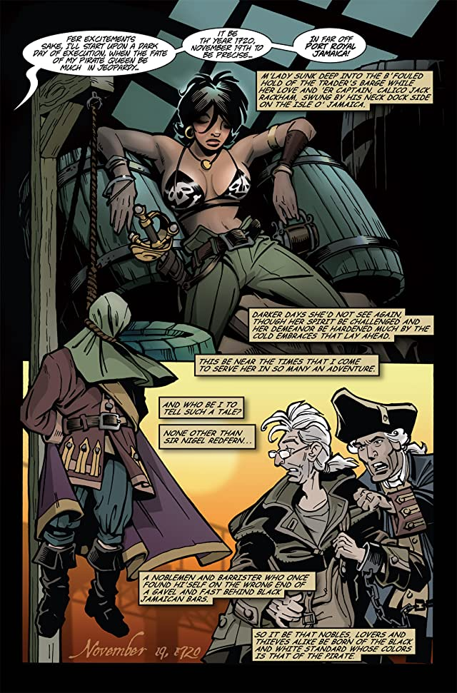 click for super-sized previews of The Voyages of She-Buccaneer #1