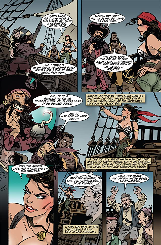 click for super-sized previews of The Voyages of She-Buccaneer #2
