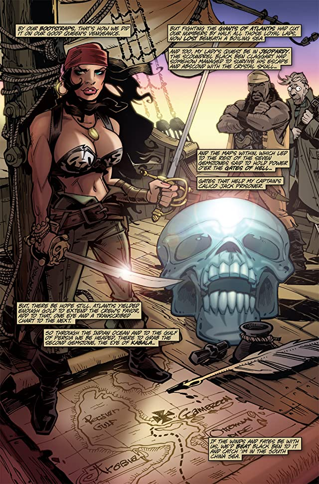 The Voyages of She-Buccaneer #3 (of 7)