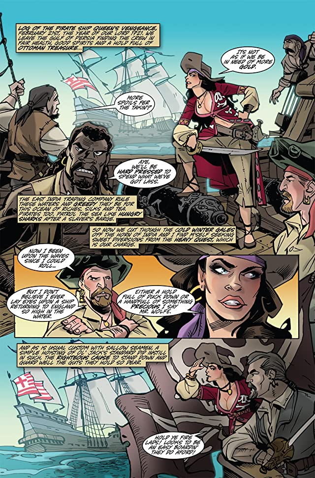 The Voyages of She-Buccaneer #4 (of 7)