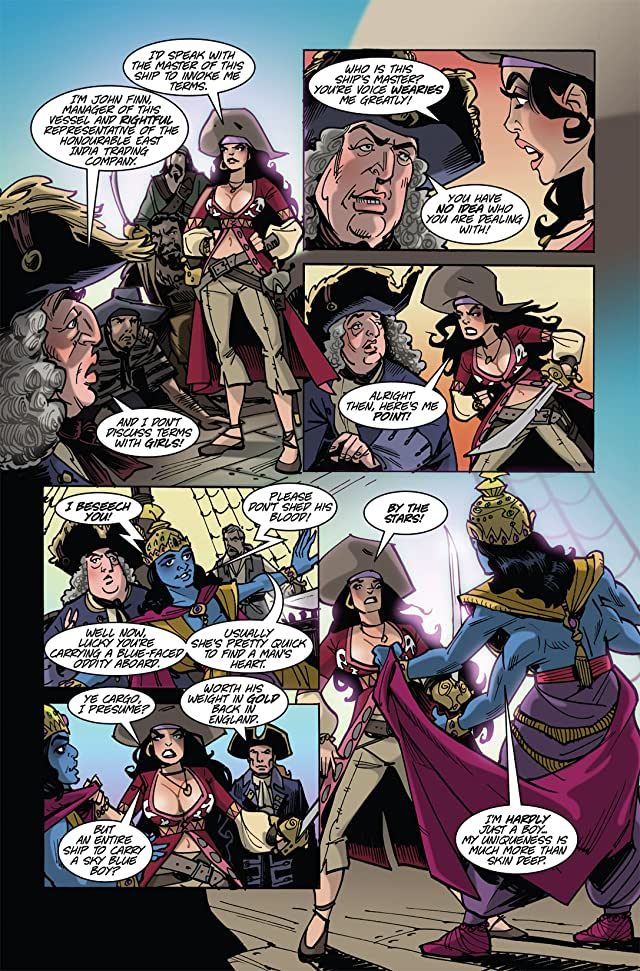 click for super-sized previews of The Voyages of She-Buccaneer #4