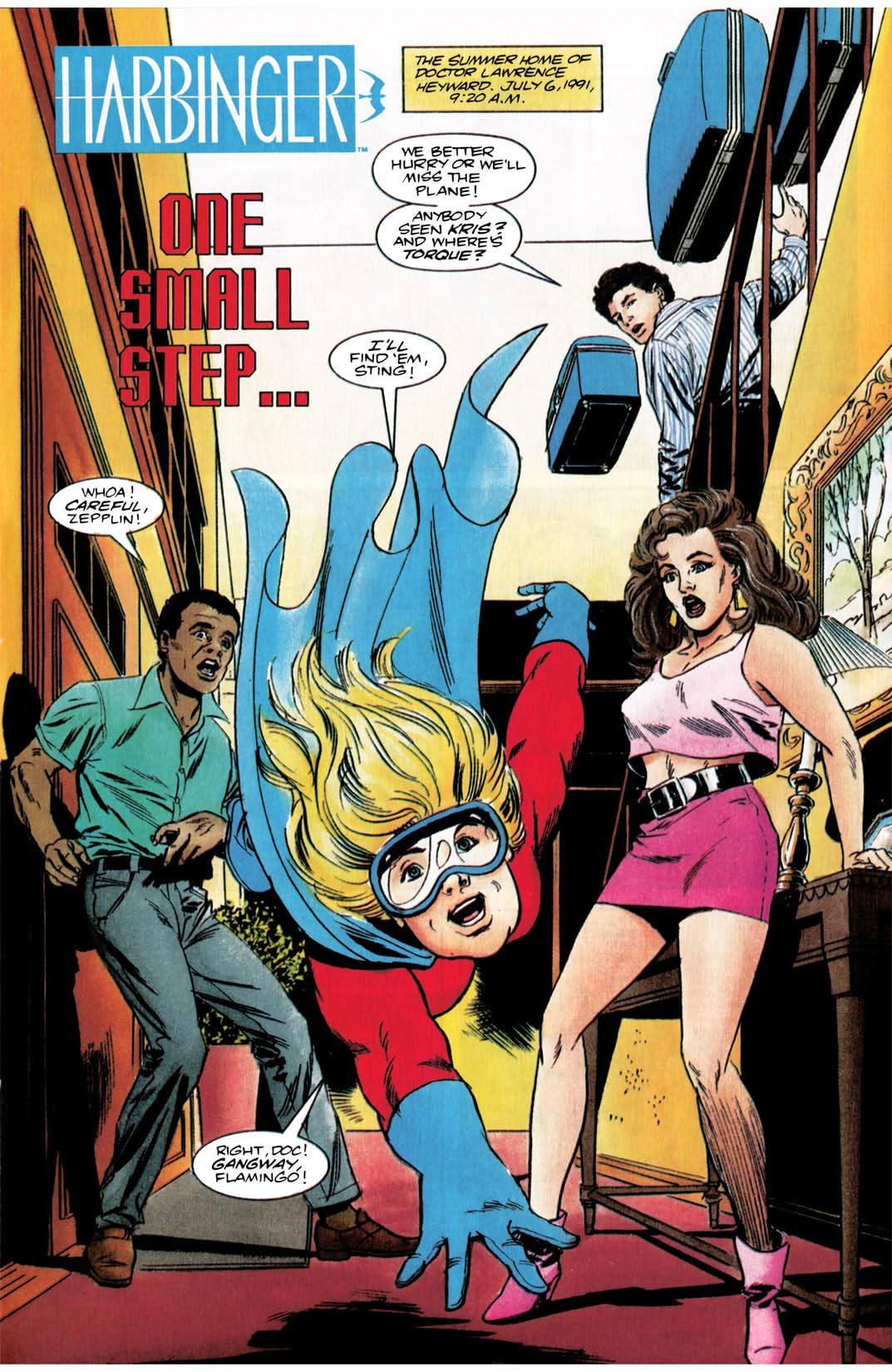 Harbinger (1992-1995) #3