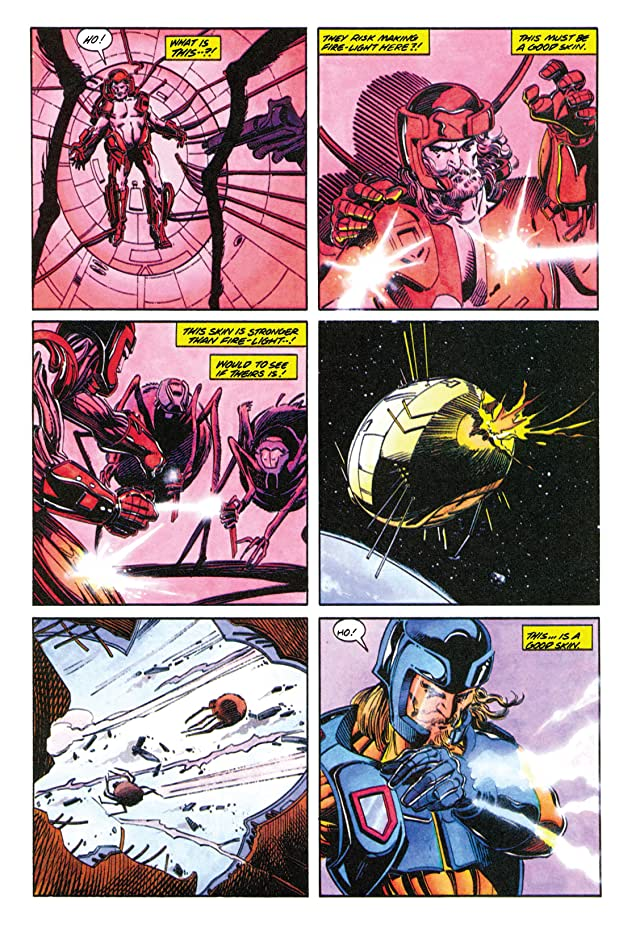 click for super-sized previews of X-O Manowar (1992-1996) #1