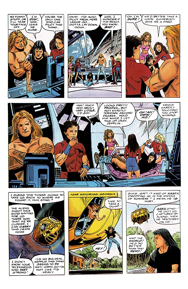 click for super-sized previews of Harbinger (1992-1995) #4