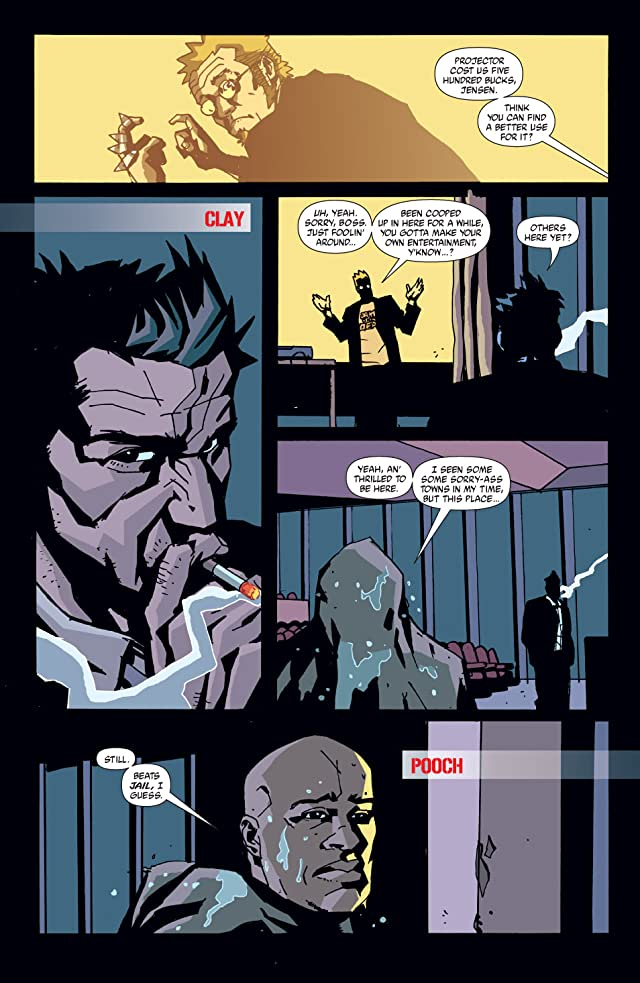 click for super-sized previews of The Losers #9