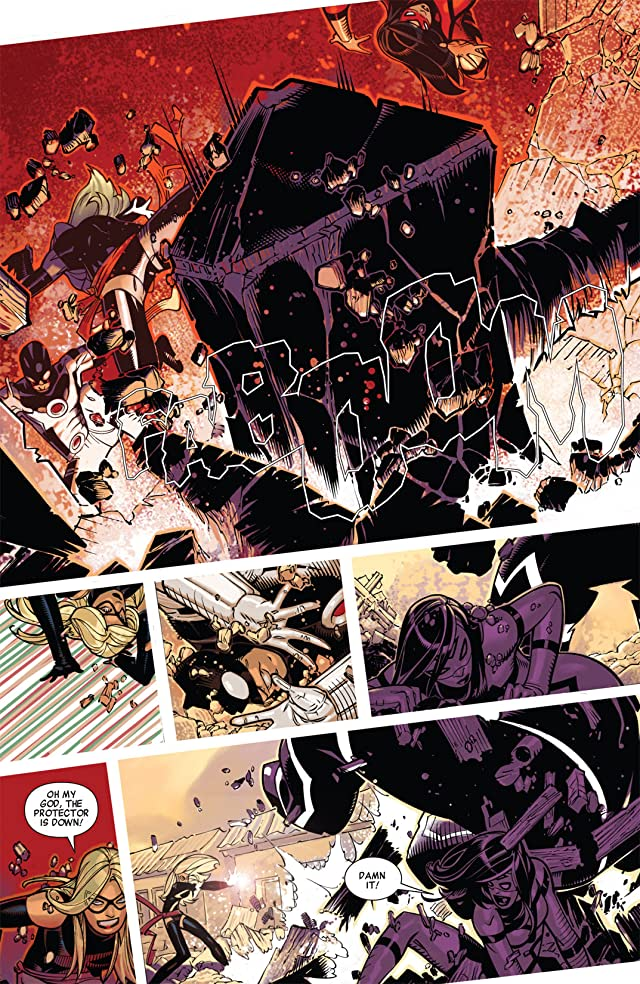 click for super-sized previews of Avengers (2010-2012) #15