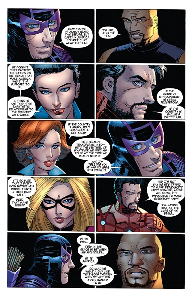 click for super-sized previews of Avengers (2010-2012) #16
