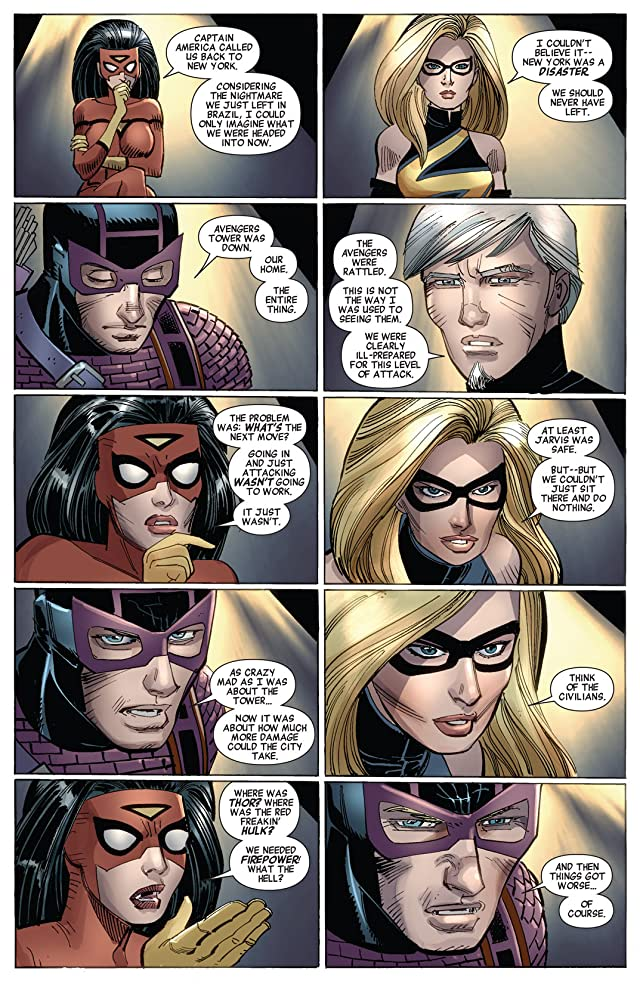 click for super-sized previews of Avengers (2010-2012) #17