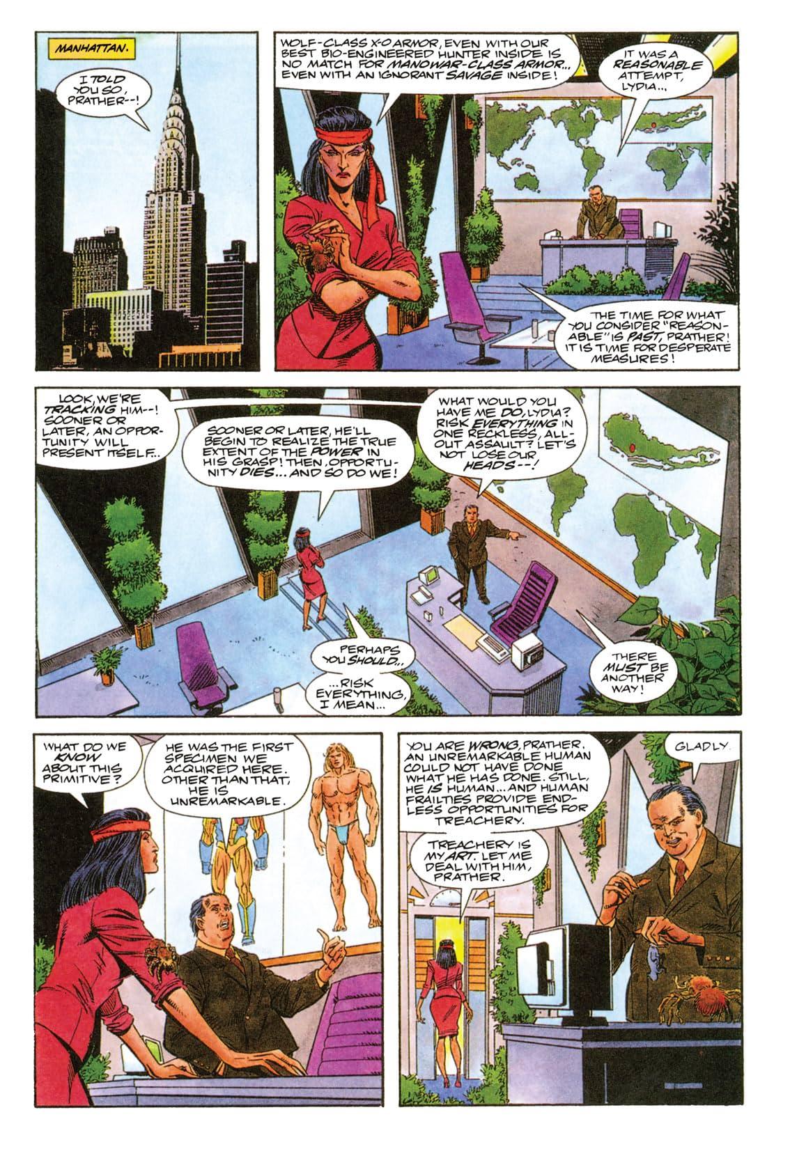 X-O Manowar (1992-1996) #2