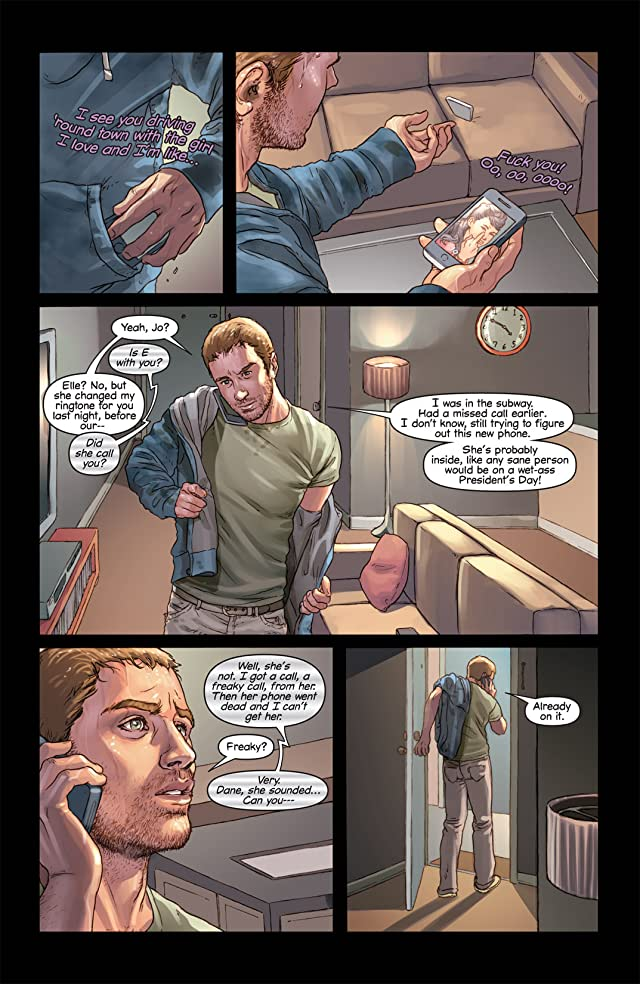 click for super-sized previews of Mind the Gap #1
