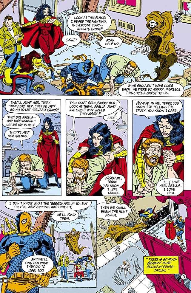 click for super-sized previews of The New Titans (1984-1996) #79