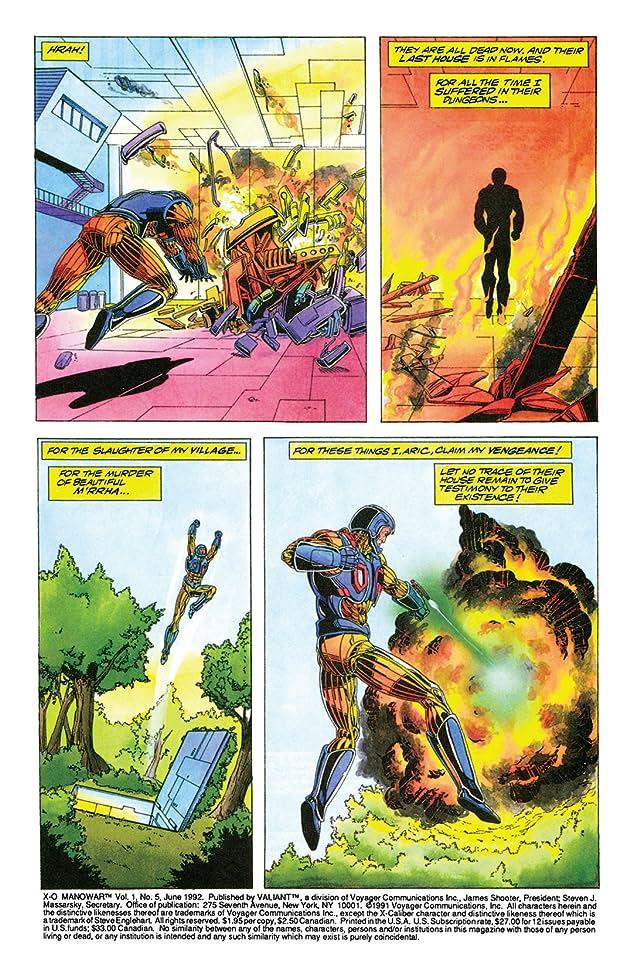 X-O Manowar (1992-1996) #5