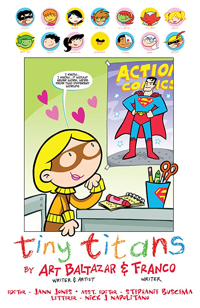 click for super-sized previews of Tiny Titans #2