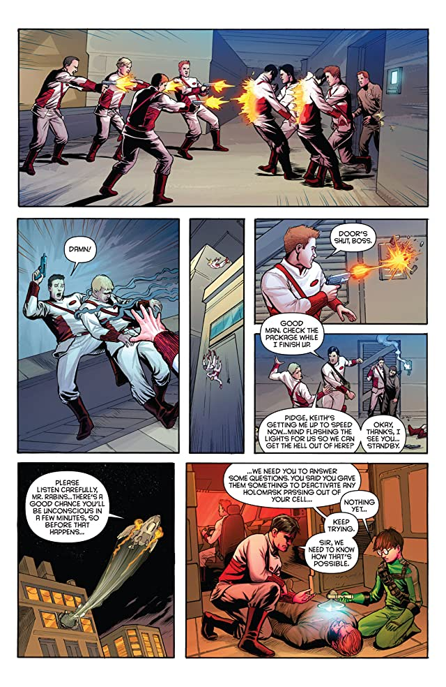click for super-sized previews of Voltron: Year One #2