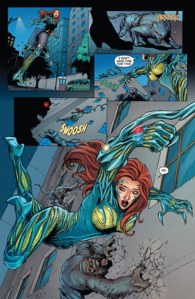 Witchblade/Red Sonja #3