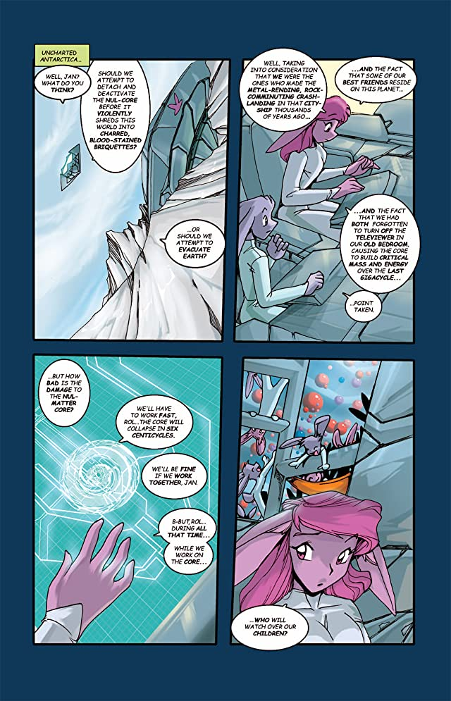 click for super-sized previews of Gold Digger #48