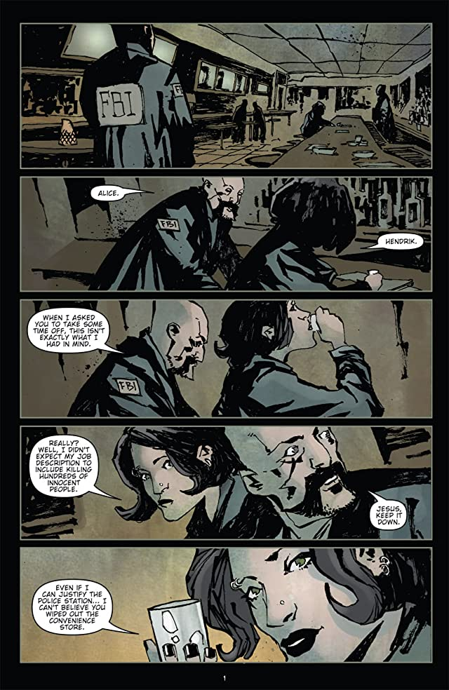 click for super-sized previews of 30 Days of Night: Ongoing #7