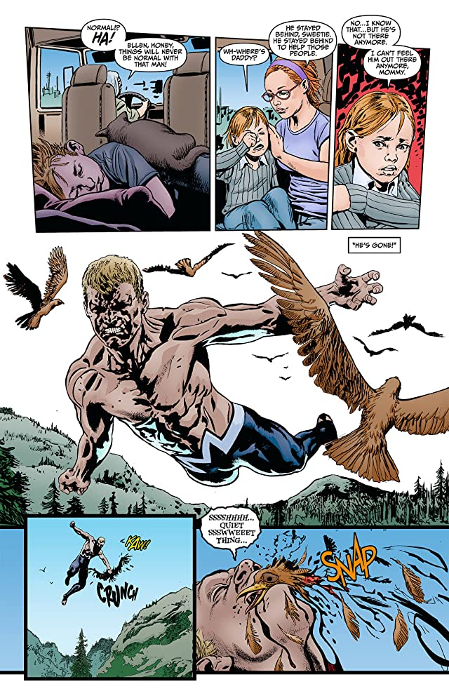 click for super-sized previews of Animal Man (2011-2014) #9