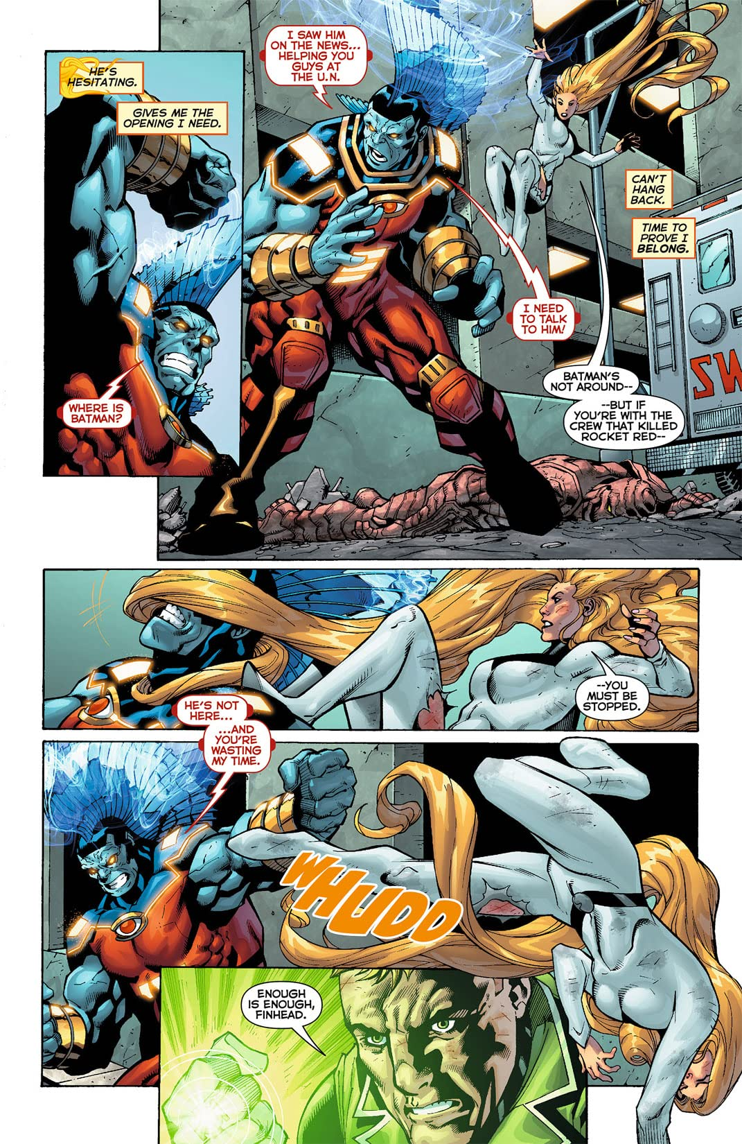 Justice League International (2011-2012) #9