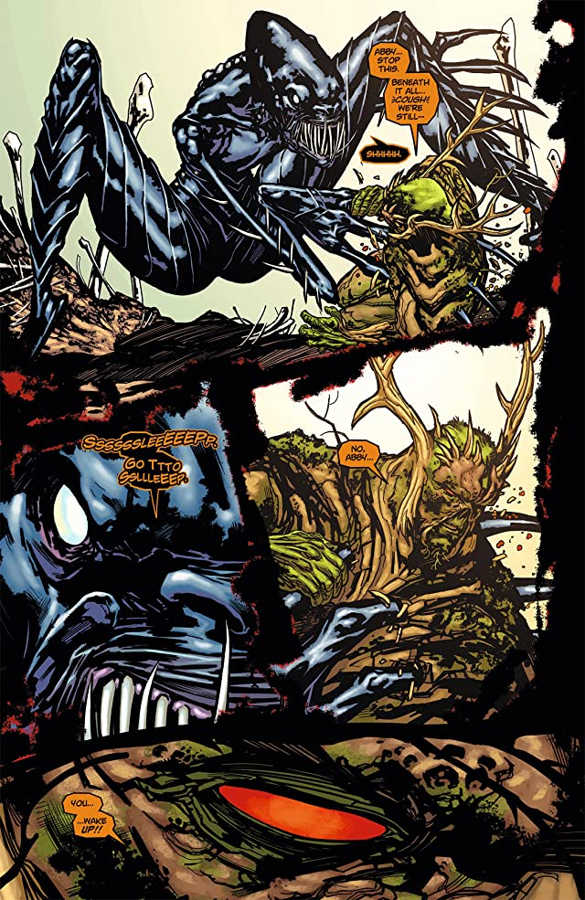 click for super-sized previews of Swamp Thing (2011-2015) #9