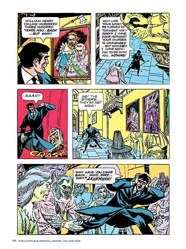 click for super-sized previews of Dark Shadows #4