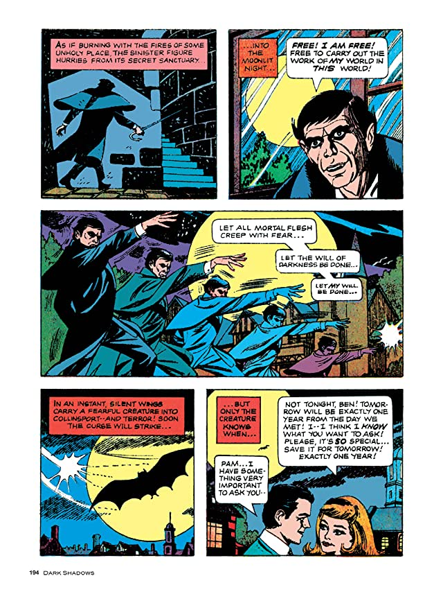 click for super-sized previews of Dark Shadows #7