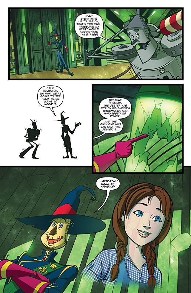 click for super-sized previews of Dorothy of Oz Prequel #2