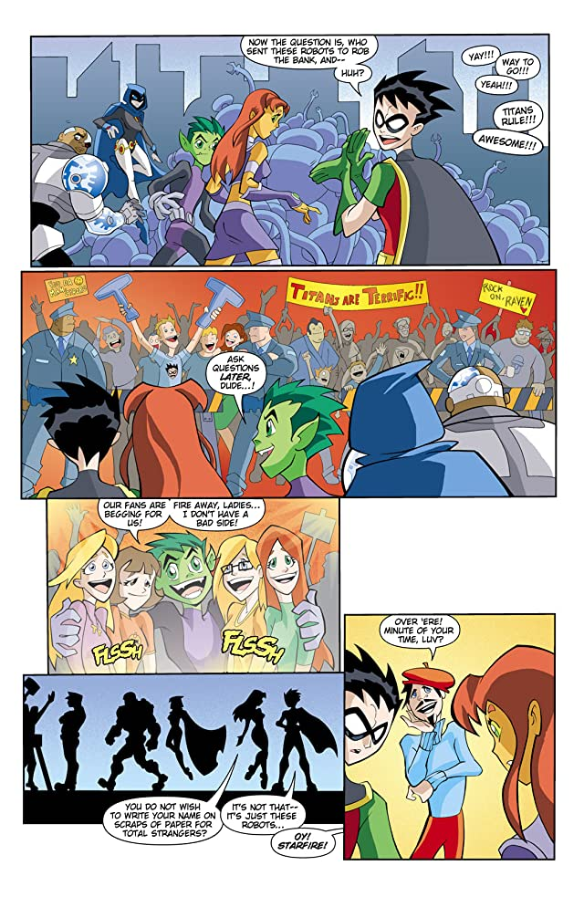 click for super-sized previews of Teen Titans Go! (2004-2008) #8