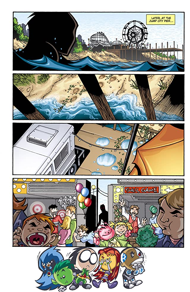 click for super-sized previews of Teen Titans Go! (2004-2008) #10