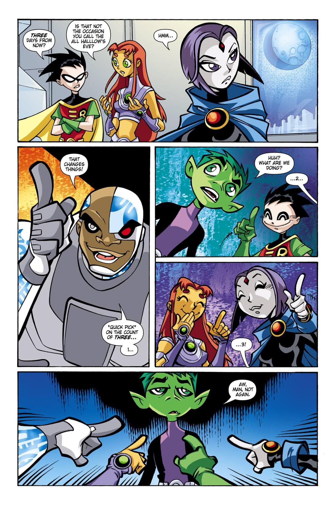 Teen Titans Go! (2004-2008) #13